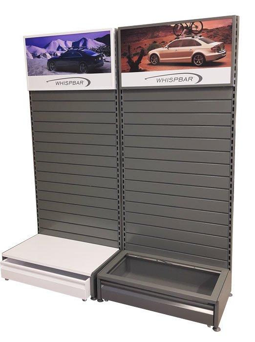 systemy paneli sklepowych