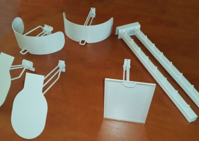 hooks and hangers for shelving