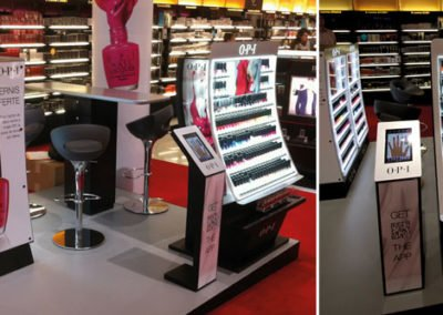 Sales counter display