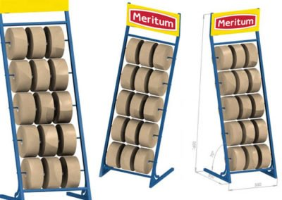production magasin rack