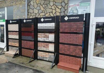 advertising stand Cerrada